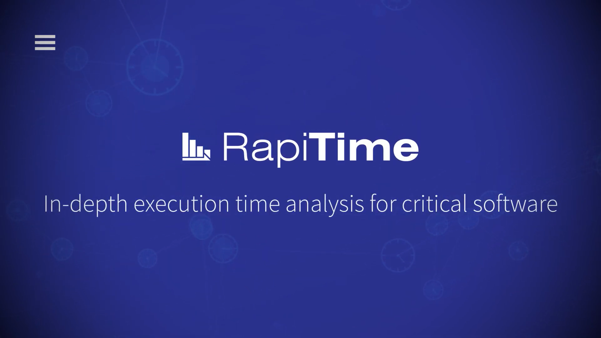Execution time analysis with RapiTime Thumbnail