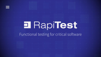 Functional testing with RapiTest Thumbnail