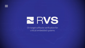 On-target software verification with RVS Thumbnail